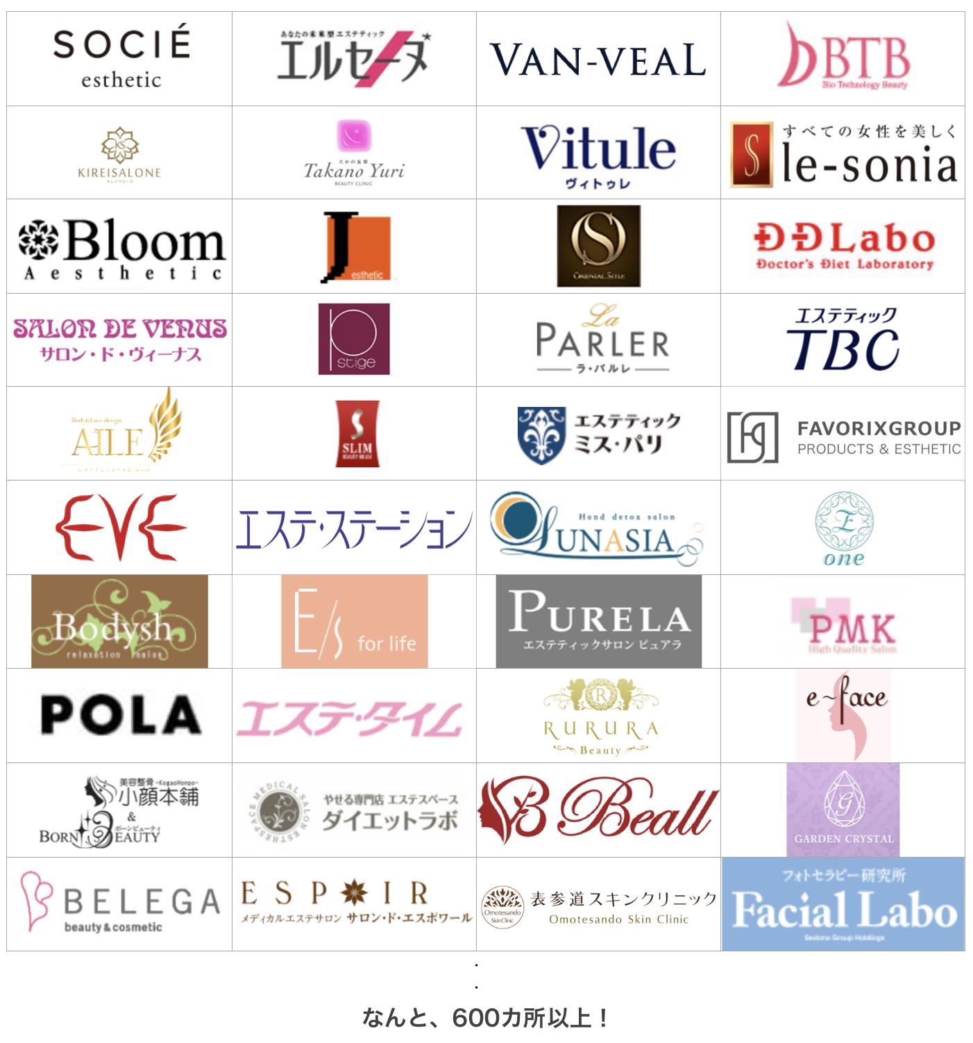 大阪市内だけでも600店舗以上ある!
