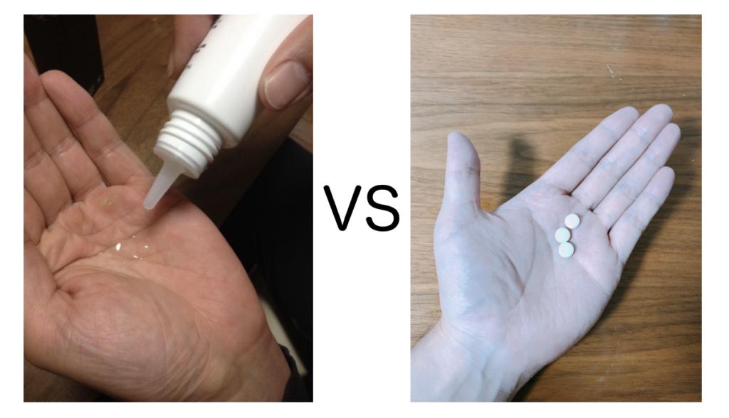 育毛サプリと育毛剤、どちらが効果が高いのか?