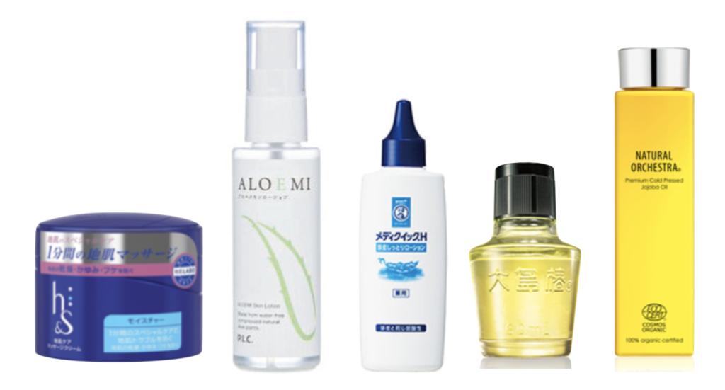 ローションや化粧水を使う