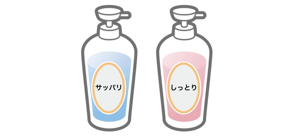シャンプーは洗い上がりで比較する