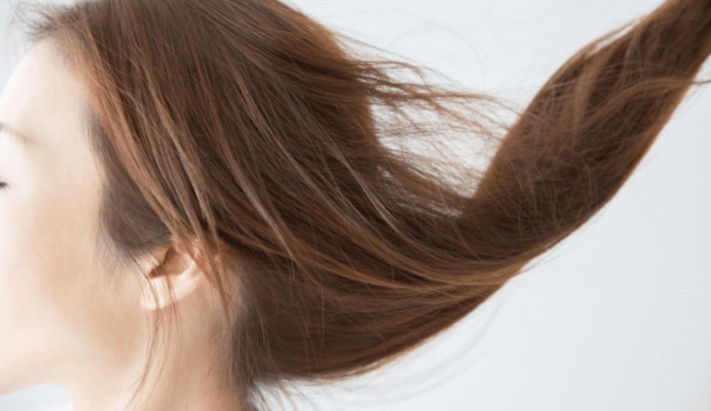 髪の毛がサラサラになる