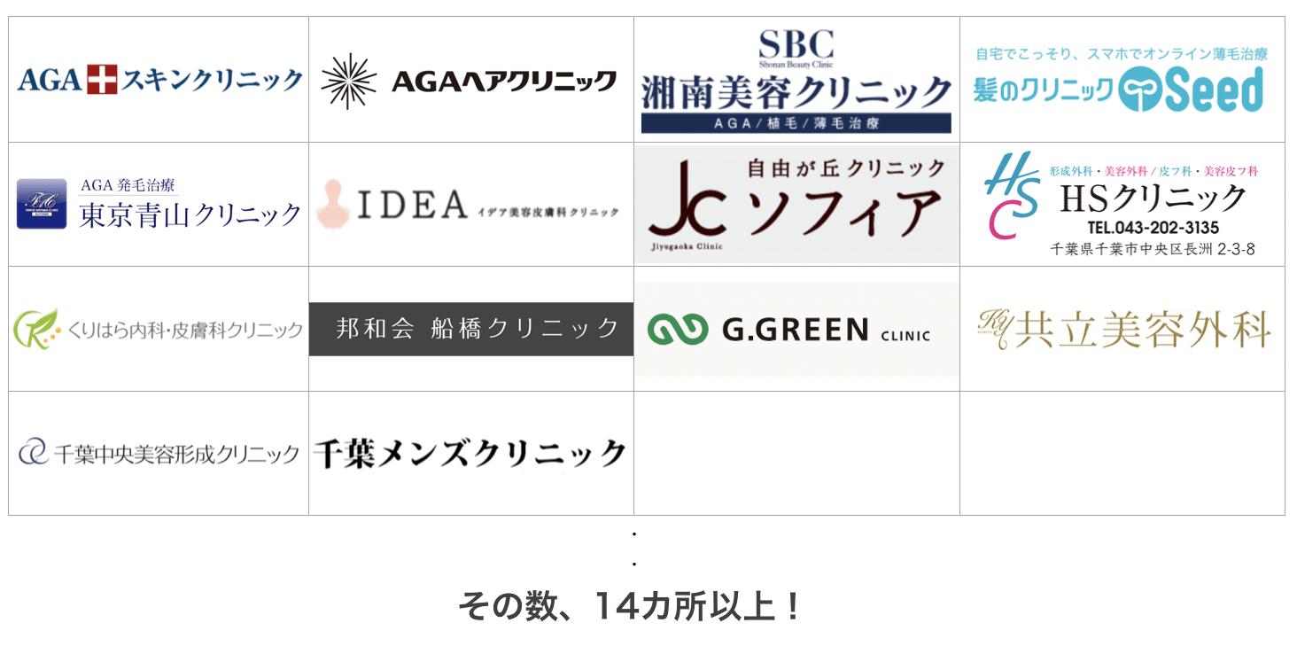 福岡の薄毛治療クリニック14ヶ所を比較