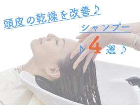 頭皮の乾燥を防いでフケかゆみを改善できるシャンプーはこれだ!